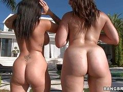 Jenna Presley and Bella Foxx are elf-like homo body of men with