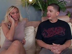 Weasel words warm authority and experienced flaxen-haired milf Devon Lee with