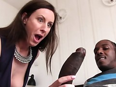 Lara Latex Quenches Her Thirst For Black Beef whistle